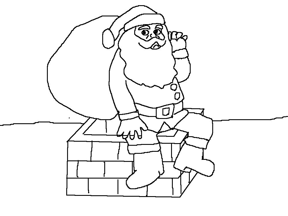 12月の塗り絵だよたのしいイラストで子供と一緒に楽しもう