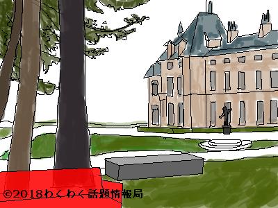 宮殿のイラスト