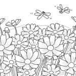 『秋の塗り絵』の無料イラストだよ!登録不要でスグ楽しめる!