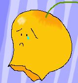 涙を流すサンダーソニアのイラスト