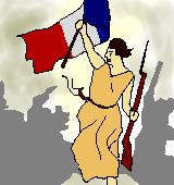 フランス革命のイラスト