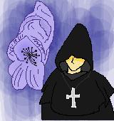 修道士のイラスト