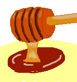 メープルシロップのイラスト