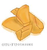 大学芋のイラスト
