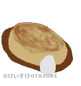 豆腐ハンバーグのイラスト