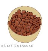 肉味噌のイラスト