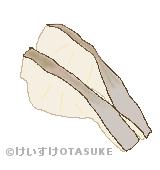 鱈のイラスト