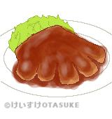 トンテキのイラスト