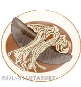 ニシン蕎麦のイラスト