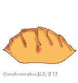 津餃子のイラスト