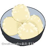粉ふき芋のイラスト