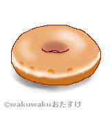 クリスピークリームドーナツのイラスト