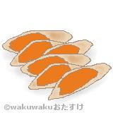鮒寿司のイラスト