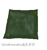 岩海苔のイラスト