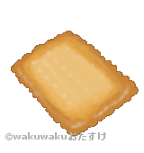 ココナッツサブレのイラスト