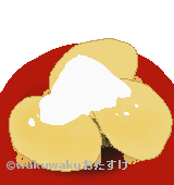 安倍川餅のイラスト