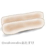 安永餅のイラスト