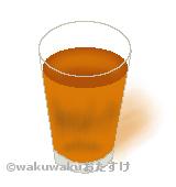 麦茶のイラスト