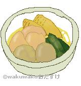 吉野煮のイラスト