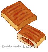 ミートパイのイラスト