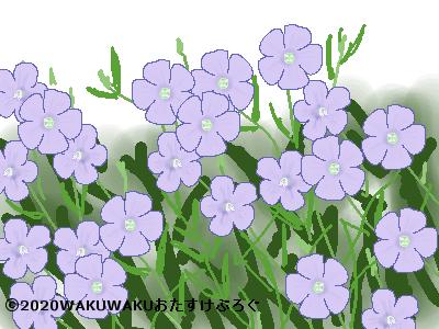 亜麻のイラスト